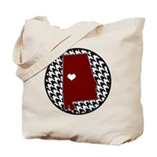 Heart of Alabama Tote Bag