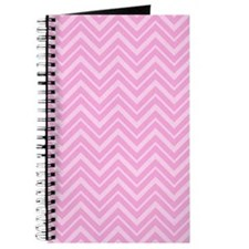 Pink Chevron Journal