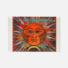 Sun Shine In Rectangle Magnet