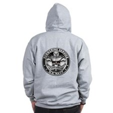 Sub Service Dolphins Zip Hoodie