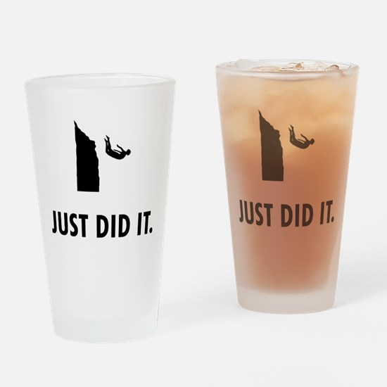 Cliff Diving Drinking Glass