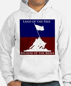 Land Of The Free Because Of The Brave Soldiers Hoo