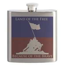 Land Of The Free Because Of The Brave Soldiers Fla