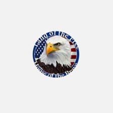 Land Of The Free Home Of The Brave Eagle Mini Butt