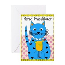 Nurse Practitioner cat 3 Greeting Card