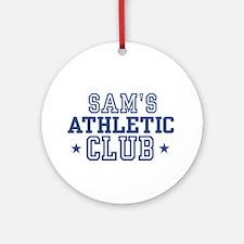 Sam Ornament (Round)