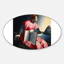 Allegorical Portrait of Dante Decal