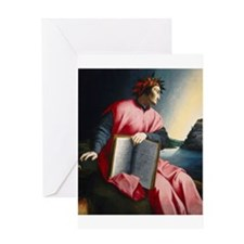 Allegorical Portrait of Dante Greeting Card