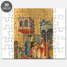 Andrea di Bartolo - Joachim and the Beggars Puzzle