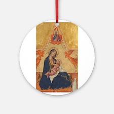 Andrea di Bartolo - Madonna and Child Ornament (Ro