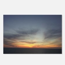 Sunset over the Caribbean Postcards (Package of 8)