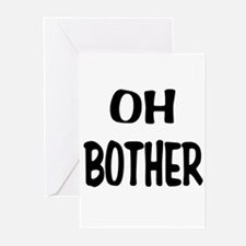 Oh Bother Greeting Cards (Pk of 10)