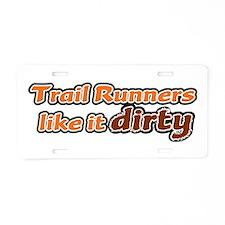 Trail Runners like it Dirty - Orange Dirty Aluminu