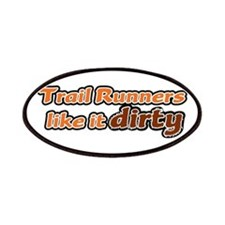Trail Runners like it Dirty - Orange Dirty Patches