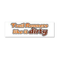 Trail Runners like it Dirty - Orange Dirty Car Mag