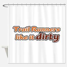 Trail Runners like it Dirty - Orange Dirty Shower
