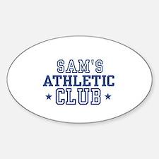Sam Oval Decal