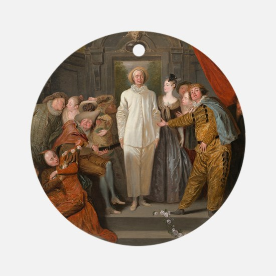 Antoine Watteau - The Italian Comedians Ornament (