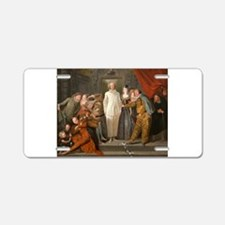 Antoine Watteau - The Italian Comedians Aluminum L