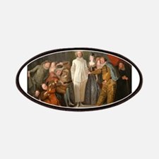 Antoine Watteau - The Italian Comedians Patches
