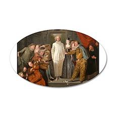 Antoine Watteau - The Italian Comedians Wall Decal