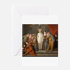 Antoine Watteau - The Italian Comedians Greeting C
