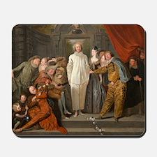 Antoine Watteau - The Italian Comedians Mousepad