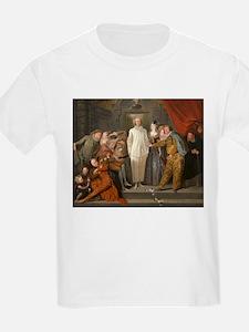 Antoine Watteau - The Italian Comedians T-Shirt