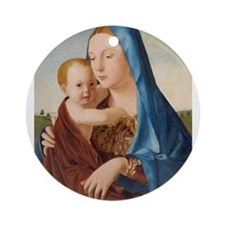 Antonello da Messina - Madonna and Child Ornament