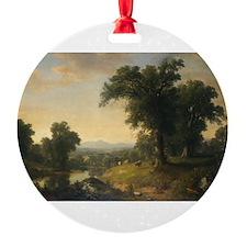 Asher Brown Durand - A Pastoral Scene Ornament