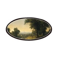 Asher Brown Durand - A Pastoral Scene Patches