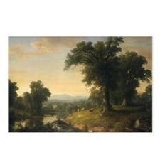 Asher Brown Durand - A Pastoral Scene Postcards (P