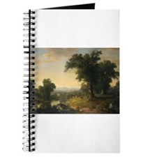 Asher Brown Durand - A Pastoral Scene Journal