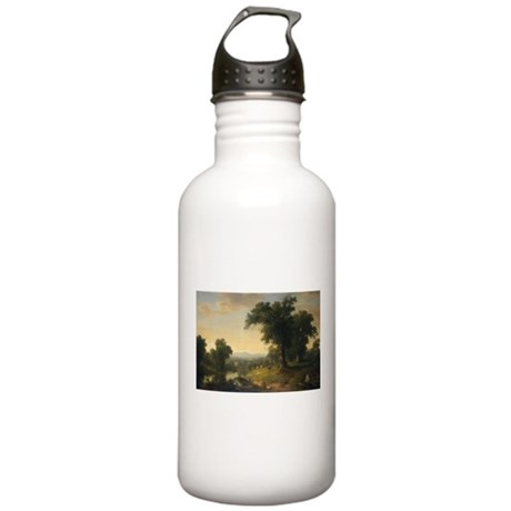 Asher Brown Durand - A Pastoral Scene Water Bottle
