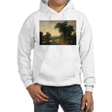 Asher Brown Durand - A Pastoral Scene Hoodie
