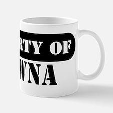 Property of Shawna Mug