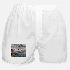 Auguste Renoir - Oarsmen at Chatou Boxer Shorts