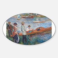 Auguste Renoir - Oarsmen at Chatou Decal