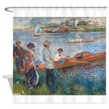 Auguste Renoir - Oarsmen at Chatou Shower Curtain