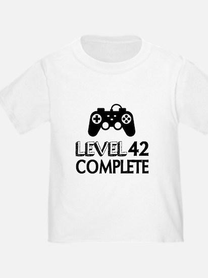 Level 42 Complete Birthday Designs T