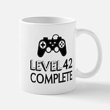 Level 42 Complete Birthday Desig Small Mug