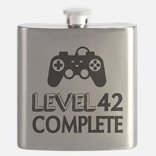 Level 42 Complete Birthday Designs Flask