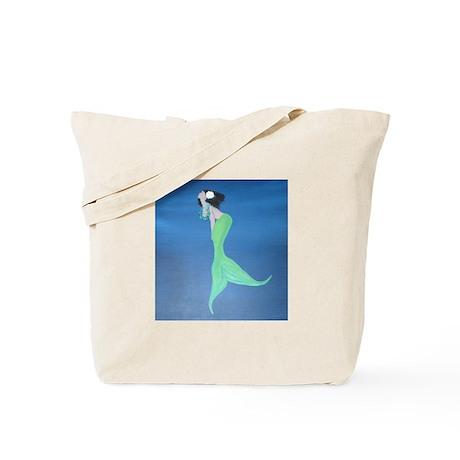 Island Mermaid Tote Bag
