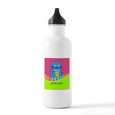 Retired Nurse Cat Water Bottle