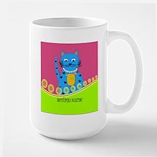 Retired Nurse Cat Mug