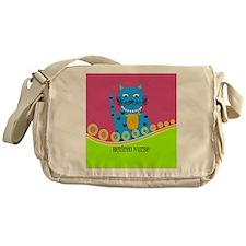 Retired Nurse Cat Messenger Bag