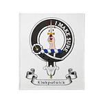 Badge - Kirkpatrick Throw Blanket