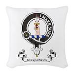 Badge - Kirkpatrick Woven Throw Pillow
