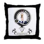 Badge - Kirkpatrick Throw Pillow