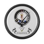 Badge - Kirkpatrick Large Wall Clock